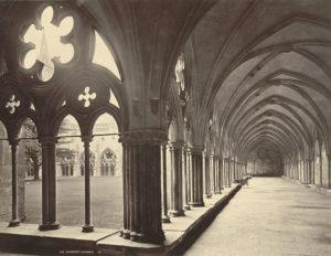 Ornament från Salisburys katedralskloster